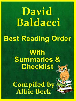 David Baldacci: Best Reading Order - with Summaries  Checklist