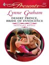 Desert Prince, Bride of Innocence (Pregnant Brides #1)