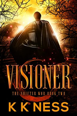 Book Review: Visioner (The Shifter War #2) by K.K. Ness