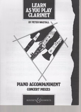 Learn As You Play Clarinet, Teachers Book, Peter Wastall
