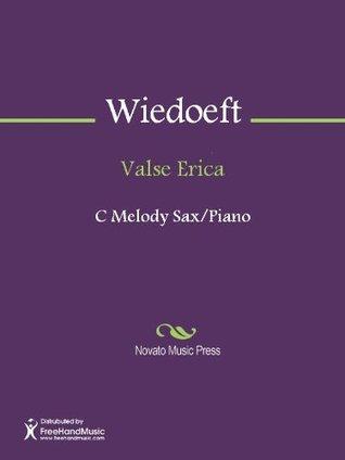 Valse Erica - C Melody Saxophone