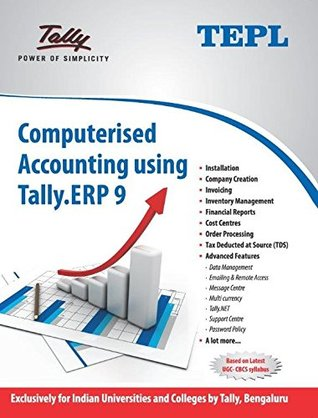 Computerised Accounting using Tally.ERP 9
