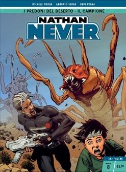 Nathan Never n. 8: I predoni del deserto – Il campione