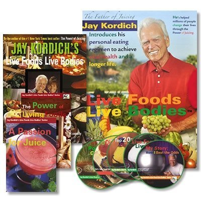 The Live Foods Live Bodies Program (242 page Book, 2 DVDs, 5 CDs Multimedia package) (242 page Book, 2 DVDs, 5 CDs Multimedia package)