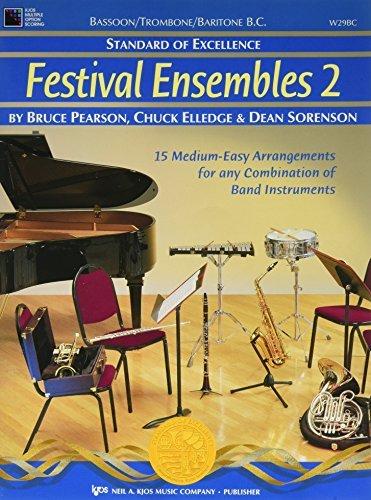 W29BC - Standard of Excellence - Festival Ensembles 2 - Bassoon/Trombone/Baritone B.C.
