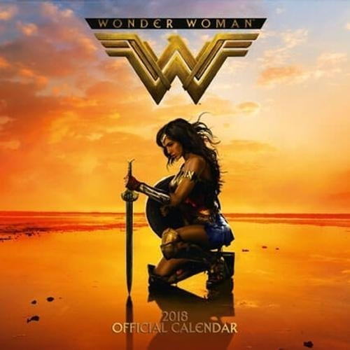 Wonder Woman Official 2018 Calendar - Square Wall Format Calendar