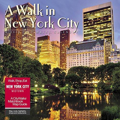 A Walk in New York City 2018 Wall Calendar
