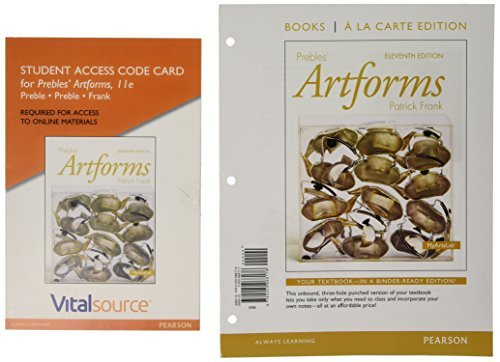 Prebles' Artforms Books a la Carte Edition; VitalSource Edition for Prebles' Artforms -- Access Card (11th Edition)