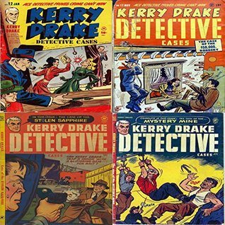 Kerry Drake Detective. Issues 12, 17, 28 and 30. Special investigator for the district attorney. Ace detective proves crime can't win. Includes the case of the $50,000 robbery, the Case of the stolen