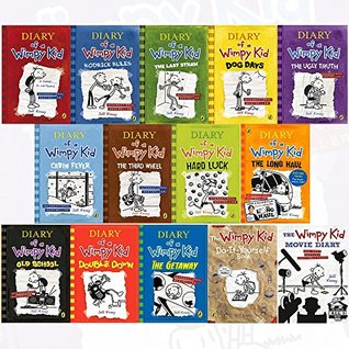 Diary of a wimpy kid complete collection 14 books set by jeff kinney diary of a wimpy kid complete collection 14 books set by jeff kinney diary of solutioingenieria Gallery