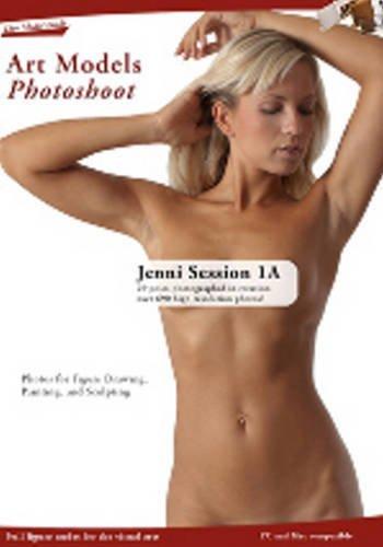 Art Models Photoshoot Jenni 1A Session
