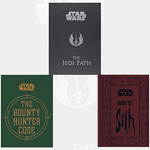Daniel Wallace Star Wars Collection 3 Books Bundle with Gift Journal (The Jedi Path: A Manual for Students of the Force, Book of Sith: Secrets from the Dark Side, The Bounty Hunter Code)