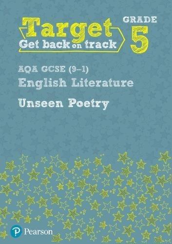 Target Grade 5 Unseen Poetry AQA GCSE (9-1) Eng Lit Workbook (Intervention English)