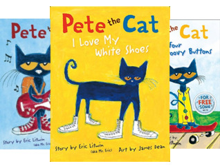 Pete the Cat (4 Book Series)