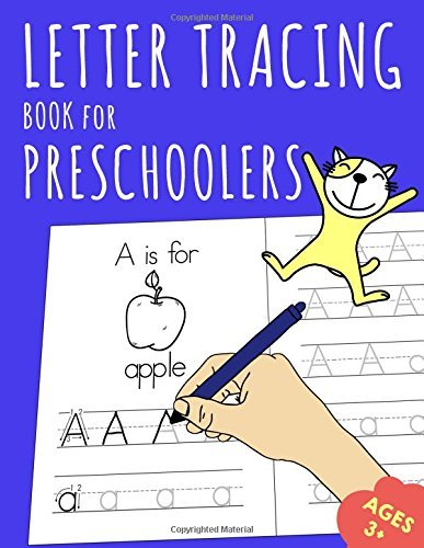 Letter Tracing Book for Preschoolers: Learn to Write for Kids