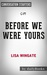 Before We Were Yours by Lisa Wingate | Conversation Starters by Daily Books