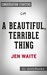 A Beautiful, Terrible Thing by Jen Waite | Conversation Starters by Daily Books