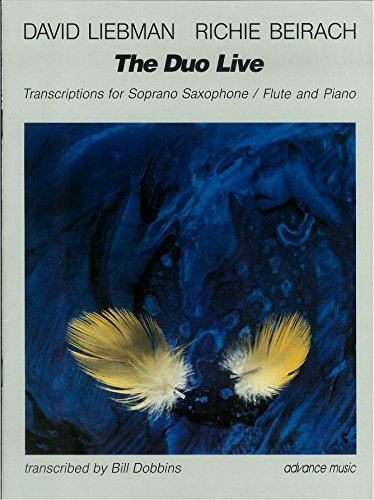 The Duo Live - Transcriptions - soprano saxophone (flute) and piano - performance score - (ADV 86101)