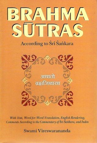 Brahma-Sutras: According to Sri Sankara