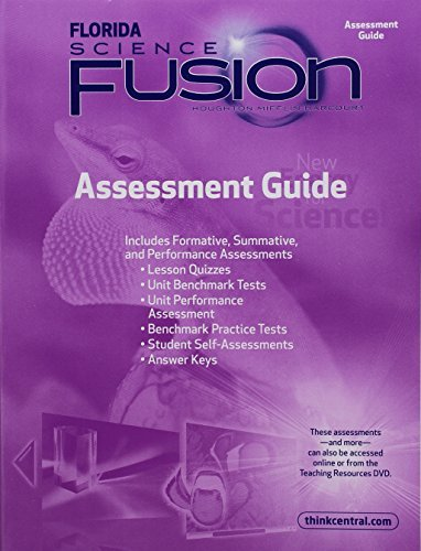 Houghton Mifflin Harcourt Science Florida: Assessment Guide Grade 3
