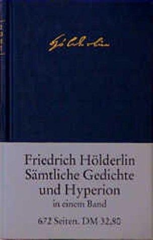 S mtliche Gedichte und Hyperion