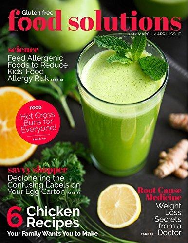 Food Solutions Book: Gluten free, blood type diet, recipe