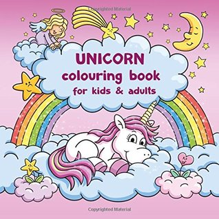 Unicorn colouring book for kids and adults + BONUS free Unicorn colouring pages