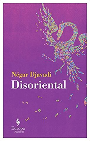 purple book cover showing a peacock