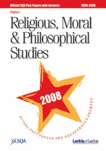 Religious, Moral and Philosophical Studies Higher SQA Past Papers 2008
