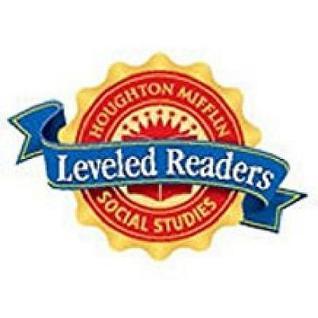Houghton Mifflin Social Studies: Big Book Unit 3 Level 1 School and Family 2008