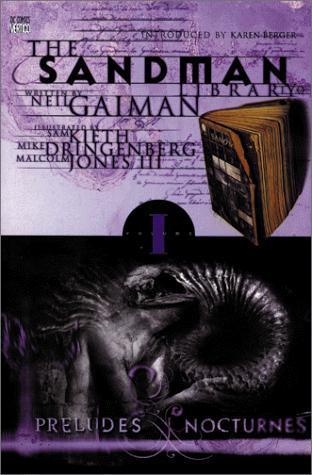 The Sandman book 1 Preludes & Nocturnes by Neil Gaiman