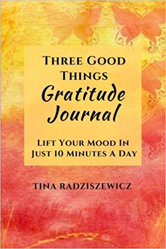 Three Good Things Gratitude Journal