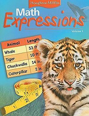 Math Expressions: Pupil Ed Blm LVL 2 Vol1
