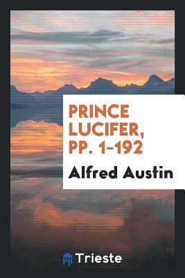 Prince Lucifer, Pp. 1-192