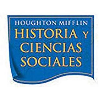 Houghton Mifflin Social Studies Spanish: Assessmnt Optns Blm L1
