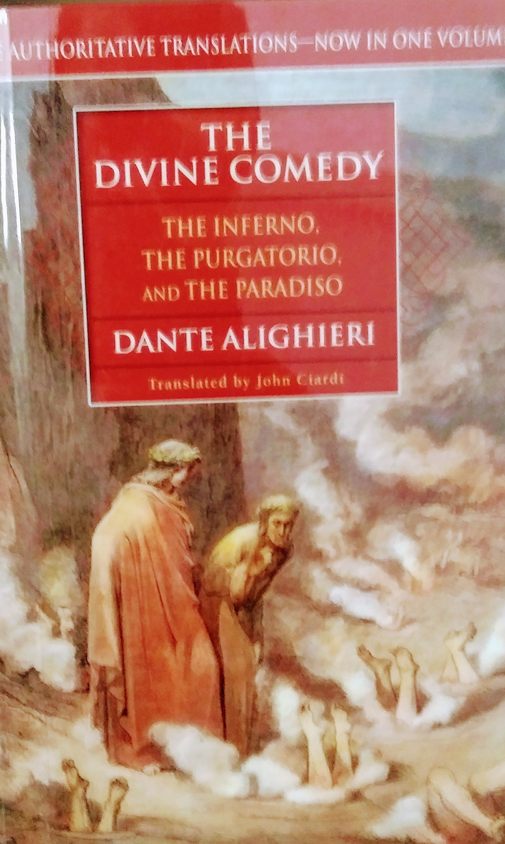 the divine comedy: the inferno, the purgatorio and the paradiso