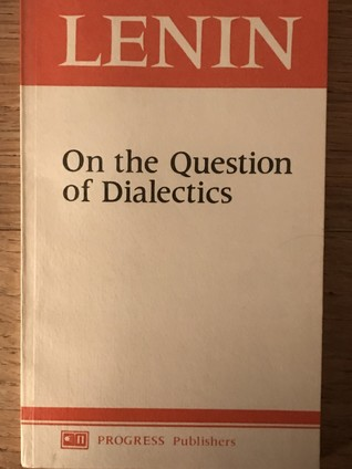 On the Question of Dialectics
