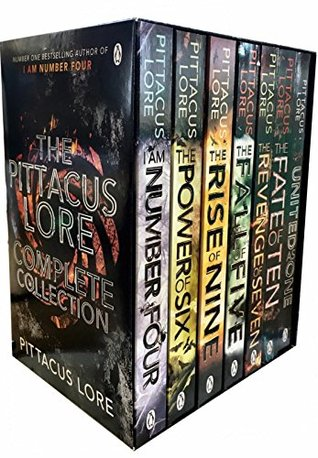 The Pittacus Lore Complete Collection #1-7