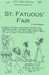 Amy Unbounded: St. Fatuous'...