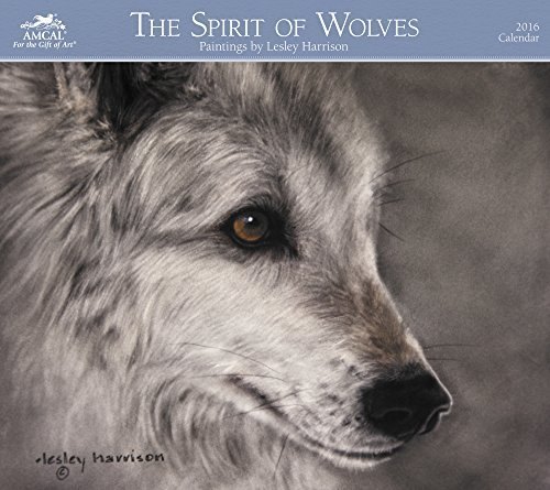 Lesley Harrison - The Spirit of Wolves Wall Calendar (2016)
