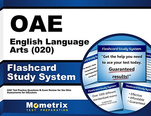 OAE English Language Arts (020) Flashcard Study System: OAE Test Practice Questions & Exam Review for the Ohio Assessments for Educators (Cards)