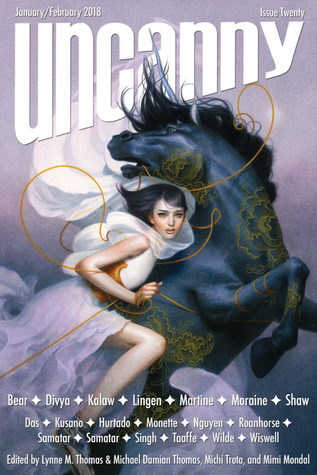 Uncanny Magazine, Issue 20: January/February 2018