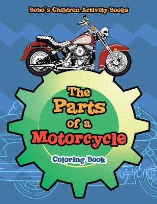 The Parts of a Motorcycle Coloring Book