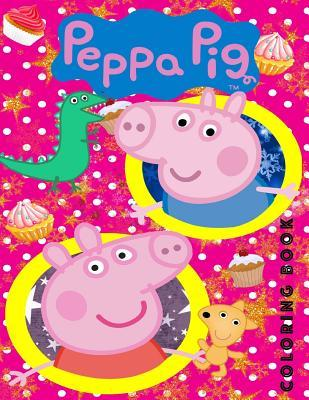 Peppa Pig Coloring Book: Great Book for Young Children Aged 2+.