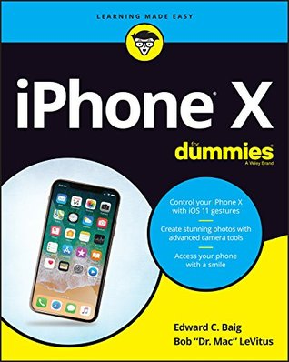 iPhone X For Dummies (For Dummies