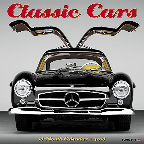 Classic Cars 2018 Wall Calendar