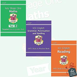 KS1 for the New Curriculum Collection 3 Books Bundle with Gift Journal (Maths Targeted Study & Question Book - Year 2, English Grammar, Punctuation & Spelling Study & Practice Book, English Reading Study & Practice Book)