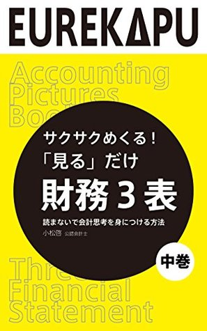 Just to See Three Financial Statement How to learn accounting thinking without reading: Accounting Pictures Book Yomanaide kaikei