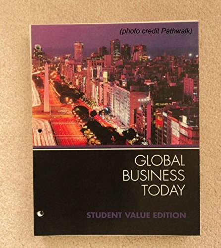 Global Business Today, 8th Edition
