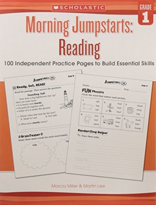 Morning Jumpstarts: Reading Grade 1 [Paperback] [Jan 01, 2017] R.L.STINE